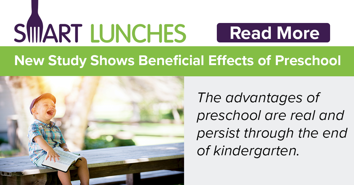 New Study Shows Beneficial Effects of Preschool